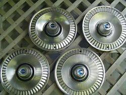 Vintage 1964 64 Ford Galaxie Hubcaps Wheel Covers Center Caps Fomoco Classic