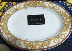 Versace Medusa Oval Plate Asian Dream Rosenthal New Discontinued Sale