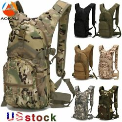 AOKALI 15L Molle Tactical Backpack Military Hiking Camping Outdoor Sport Bag US $21.99