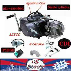 125cc 4-speed Motor Complete Engine Kit For Honda Crf50 Crf70 Xr50 Xr70 Us