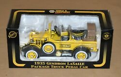 Napa Crown Premiums 1935 Gendron Lasalle Package Truck Pedal Car Bank