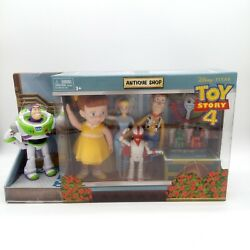 Toy Story 4 Antique Shop Adventure Pack W/ 8 Collectible Fun Figures - New