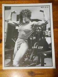 Wsp Womenand039s Physique Muscle Female Bodybuilding Magazine Lisa Lyon 80-81