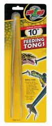 Zoo Med Labs Stainless Steel Feeding Tongs 10quot;