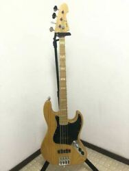 70's Atelier Z M245 Natural Electric Bass Guitar Shipped From Japan S/n 039361
