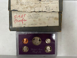 Rare 1985 S Us Mint Proof Box Set 5 Original Government Packaging