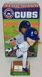 Chicago Cubs David Bote South Bend Cubs Bobble Bobblehead Doll - - Free Priority