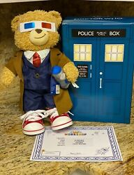 Tenth 10th Doctor Dr Who Build-a-Bear WClothes & Tardis Box Complete Set