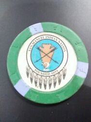 San Manuel Casino California Vintage Vault 2.00 Chip Great For Any Collection