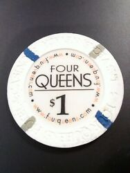 Four Queens Hotel Casino Las Vegas Nevada 1.00 Chip Great For Any Collection
