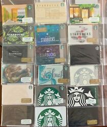 Starbucks Siren And Shop Collection Gift Cards 0 Loaded Lot Of 85
