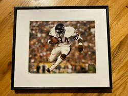 Chicago Bears Soldier Field Vintage Walter Payton Framed Wall Art Photo Print