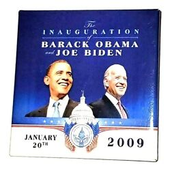 2009 Barack Obama And Joe Biden Official Inaugural Committee Inauguration Button