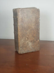 1769 Antique German Bible With Engravings