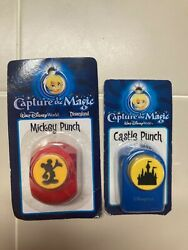 Capture The Magic Mickey And Castle Paper Punch Cutters