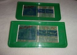 Pair Nos Car Hop Window Food Trays - Vintage Drive In Snack Auto Accessory 50's