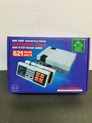 Mini Game Anniversary Edition Entertainment System Built In 621 Classic Games
