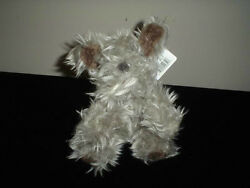 Russ Berrie Furly Terrier Dog Plush 6 Inch 24651 Tags