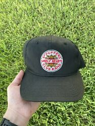 Rare Vintage 90s Sgt Peppers Lonely Hearts Club Band The Beatles Snapback Hat