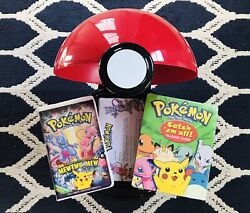 1999 Pokemon The First Movie Pokeball Promo Display Collection Rare Sealed Look