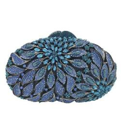 Elegant Women Flower Evening Clutch Bags Party Cocktail Purses and Handbags $65.99
