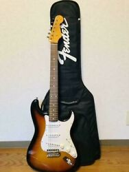 rare Fender St62 3ts 2007-2008 Electric Guitar W/ Soft Case Made In Japan
