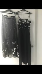Rare By Karl Lagerfeld Evening Dress 1974 Collection Size 38