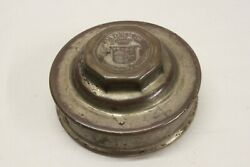 Original 1920and039s Cadillac Wheel Brass Center Cap Hupcap Grease Dust Cover Oem Gm