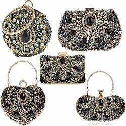 Women Envelope Wedding Party Purses Chain Shoulder Bag Evening Day Clutches Bags $28.79