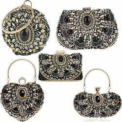 Women Envelope Wedding Party Purses Chain Shoulder Bag Evening Day Clutches Bags $35.99