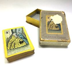 Vintage Set Of French Victorian Fashion Les Modes Godey Playing Cards By Nasco