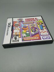 Chuck E Cheese's Game Room Nintendo Ds 2009 With Manual