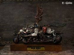 Mano Mad Wolf 200pcs Limited Painted Model Collectible Figure New In Stock