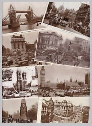 Central London - Real Photographic Old Postcards - 100+ Cards- Sold Singly