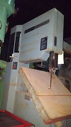 Delta Vertical Band Saw 20 In. Var. Speed Cuts Steel Al And Wood 24 Sq. Table
