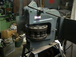 Punch Turret Manual1-1/4 In. 12 Station Indexand039wiedemannand039 R-2 + 6 Punches