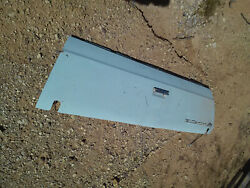 Chevrolet El Camino Classic Tailgate With Emblems, Rust Free Oem 73 74 75 76 77