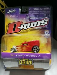 Error 2006 Jada D Rods '32 Ford Model A Fire Dept Rescue Missing Side Tampo - C9