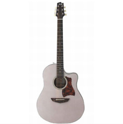 Fujigen Ag1 Twf Thin Body Transparent White Acoustic Guitar Shipped From Japan