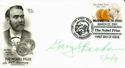 Nobel Prize In Economics Gary Becker Signed Fdc Dated 2001 Todd Mueller Coa