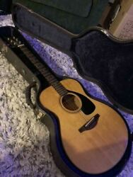 Rare Yamaha The Fs Natural Acoustic Guitar W/ Hard Case Shipped From Japan