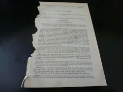 Government Report 1884 James Reynolds Pvt Co H 10th Reg Ny Cavalry Civil War