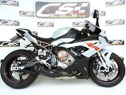 2019-22 Bmw S1000rr Full Exhaust System + Header Cs Racing Best Thick Sound