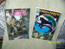 Lot Of {3} Vintage 80's And 90's And 2000's Dc Comic Books {green Arrow}
