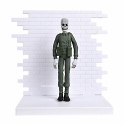 Pink Floyd Collectible 2004 The Wall Skeleton Soldier Figural Maquette Figure