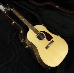 Gibson J-15 Antique Natural Acoustic Guitar With Hard Case Shipped From Japan