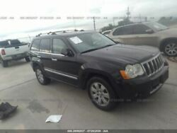 Rear Bumper With Chrome Accent Trim Plate Fits 05-10 Grand Cherokee 2142378