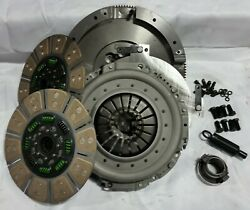 Valair Quiet Spring Hub Dual Disc Clutch For 01-05 Dodge 5.9l Nv5600 6 Speed
