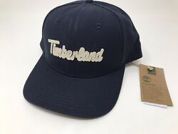 TIMBERLAND 6 Panel Baseball Snapback Hat - Navy- One Size - New With Tags! $18.99