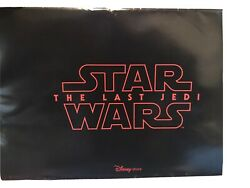 Very Rare Profitable Disney Store Force Fridays Set Of 4 The Last Jedi Posters.